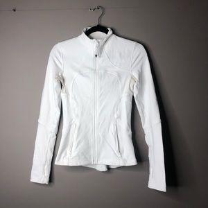 Lululemon define jacket white 6 sweater